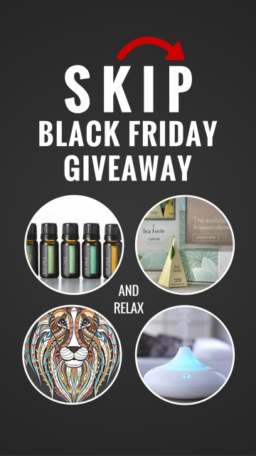 Skip Black Friday Giveaway