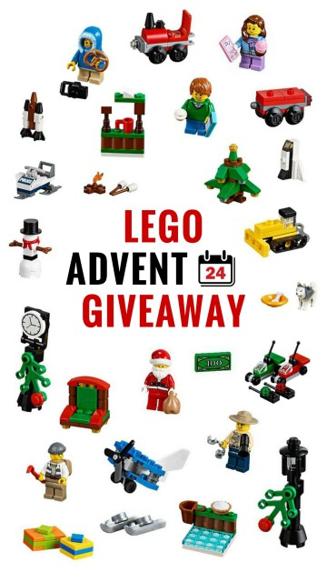 Lego Advent Calendar Giveaway