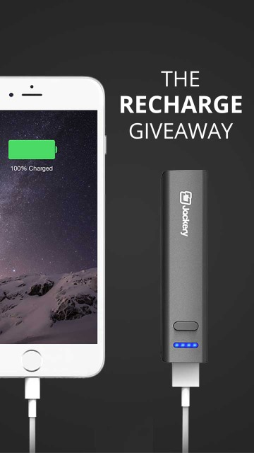 The Recharge Giveaway