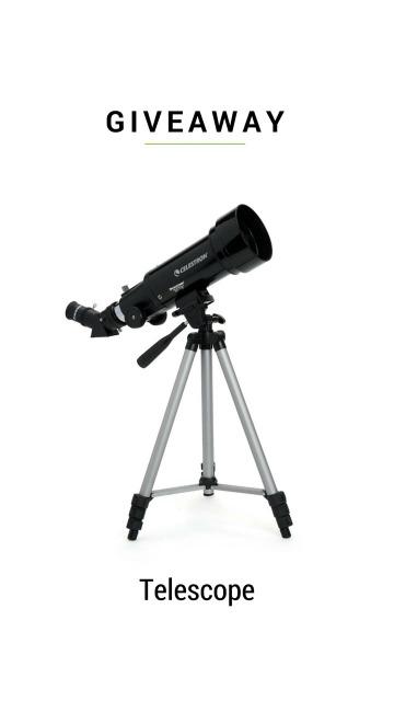Celestron Telescope Giveaway