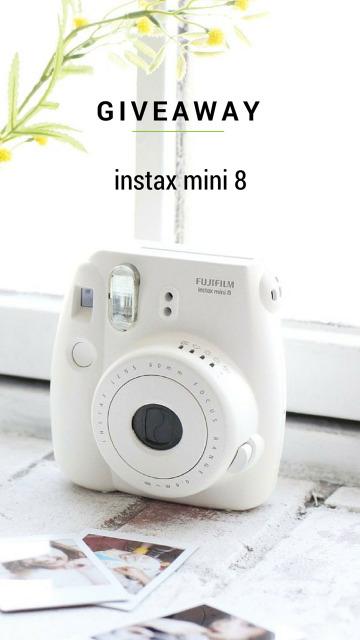 instax mini 8 Giveaway
