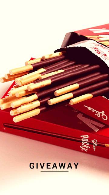 Pocky Giveaway