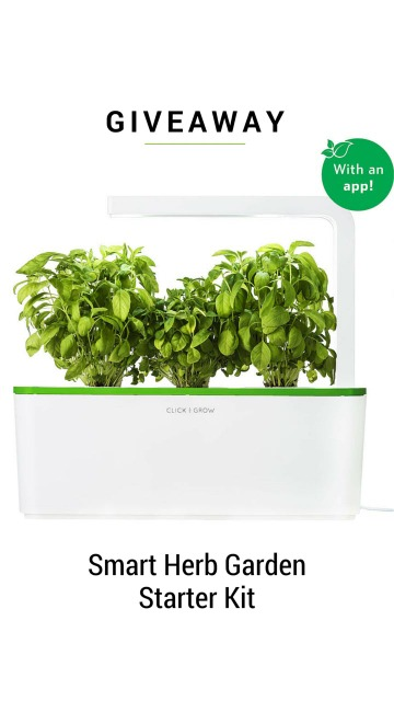 Smart Herb Garden Giveaway