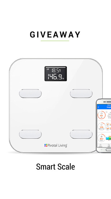 Smart Scale Giveaway