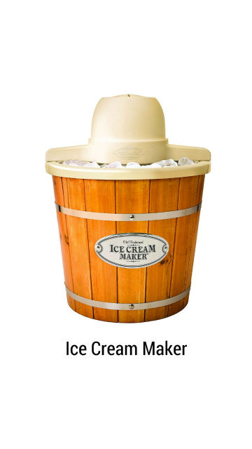 Old Fashioned Ice Cream Maker