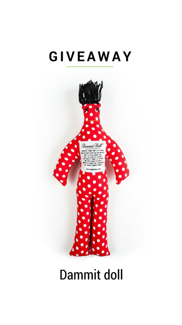 Dammit Doll Giveaway