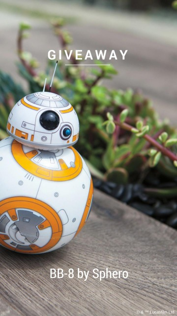 BB-8 By Sphero Giveaway
