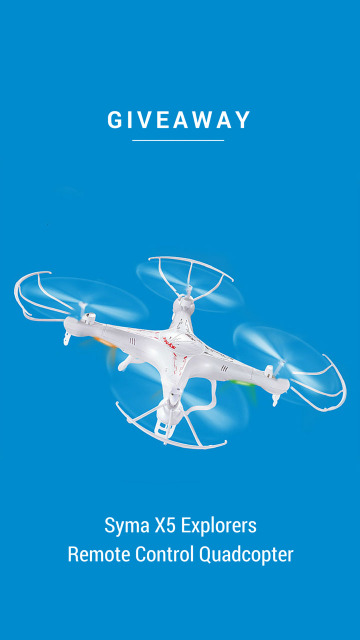 Remote Control Quadcopter Giveaway