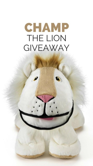 Champ the Lion Giveaway