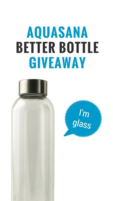 Aquasana Better Bottle Giveaway