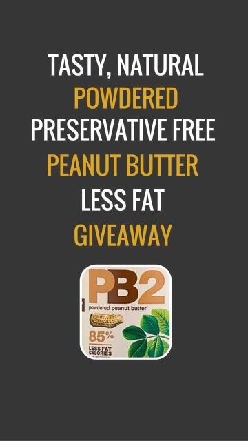 PB2 Peanut Butter Giveaway